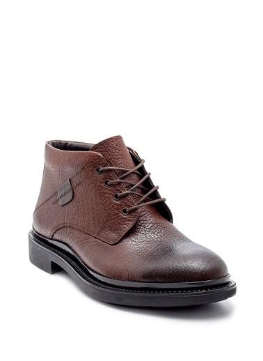 Derimod Hakiki Deri Ayakkabı Taba